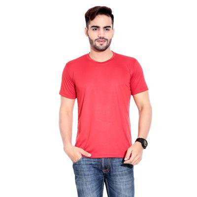 Buy Rajadhani Red Polyester T-Shirt (Size-S) by Rajadhani Knitwear, on Paytm, Price: Rs.225