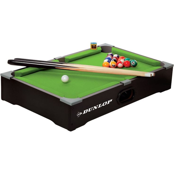 classical billiards game in a compact table design drop pockets designed for ball return sturdy tabletop design for portability includes pool table 2