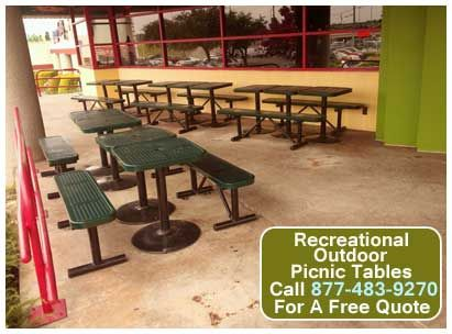 Mix And Match Your Recreational Outdoor Picnic Tables To Create A Look That  Is Uniquely Your