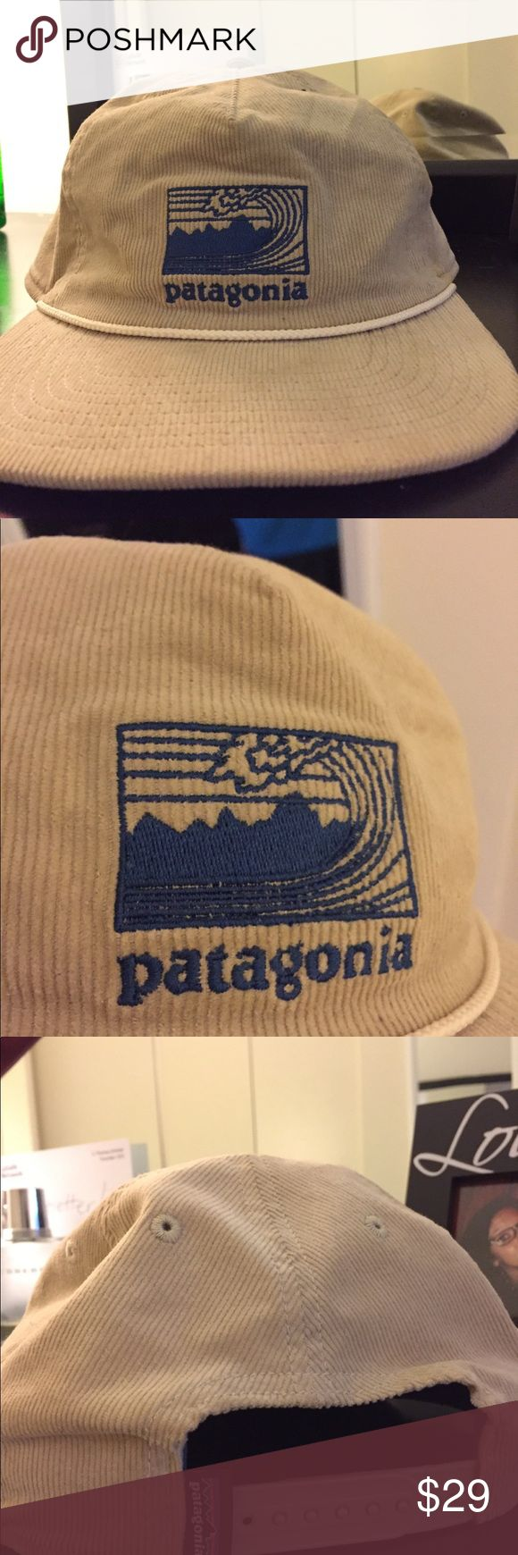 Men's Patagonia SnapBack RARE Corduroy Men's Patagonia hat. Like new condition. Patagonia Accessories Hats