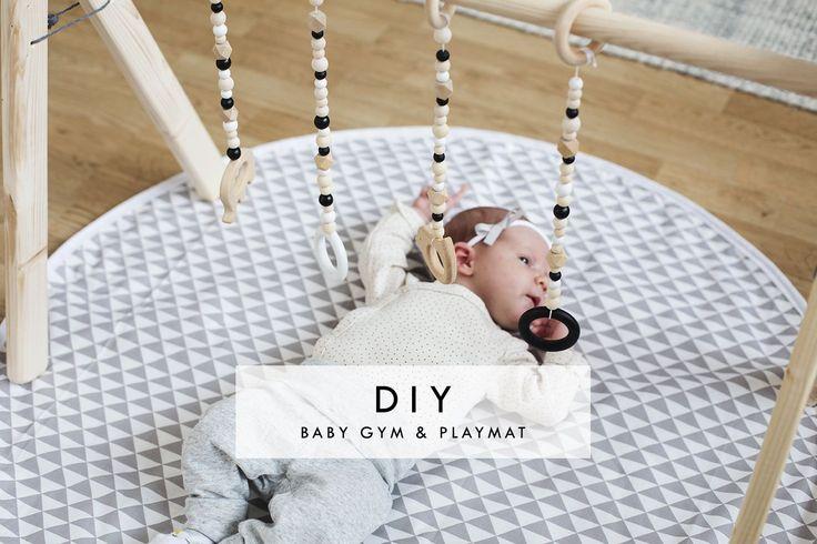 DIY Baby Gym & playmat | www.homeology.co.za  #DIY #crafts #homecrafts #craftideas #nursery #gym #babies #playmat