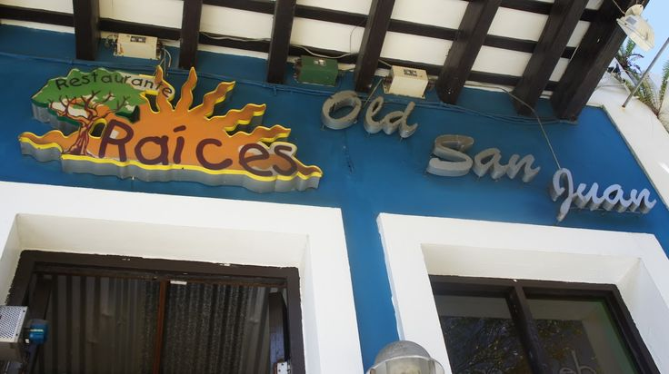 pics of restaurant in puerto rico called raices | Puerto Rico: Man Vs Food - Restaurante Raices ~ this is ...