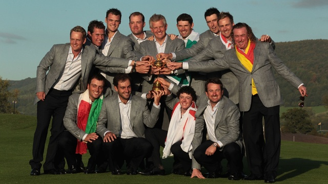 Europe Win The Ryder Cup 2010 - Memories!