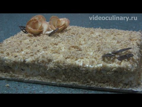 Медовый ореховый Торт Вдохновение – рецепт Бабушки Эммы