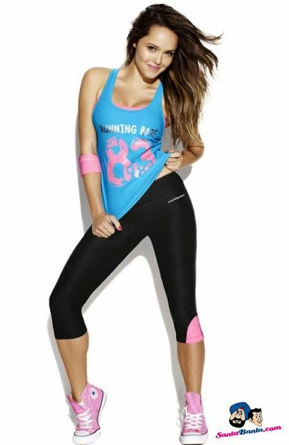 Rebecca Breeds in Sports Bra and Yoga Pants ~ Hottest News 99