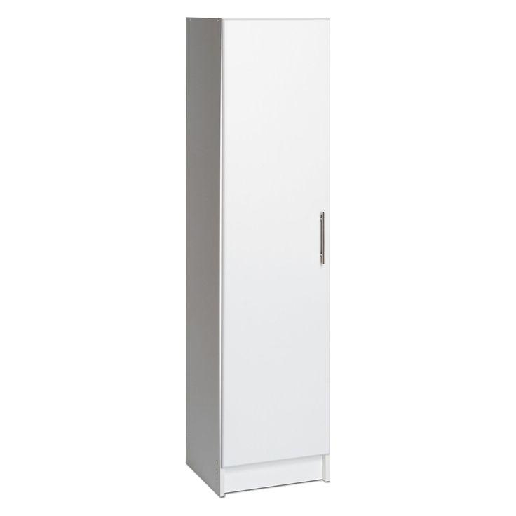 Have to have it. Elite 16 in. Single Door Broom Storage Cabinet - $119.98 @hayneedle