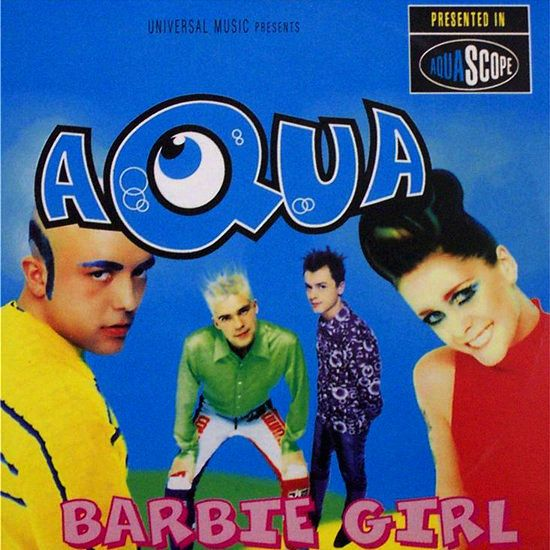 """Aqua_ A Danish-Norwegian eurodance group, best known for their 1997 breakthrough single """"Barbie Girl"""". The group formed in 1989 and achieved huge success around the globe in the late 1990s & early 2000s. The group released 3 albums: Aquarium in 1997, Aquarius in 2000 & Megalomania in 2011. The group sold an estimated 33 million albums & singles, making them the most successful Danish band ever. http://www.youtube.com/watch?v=HXfi6c1-OwI"""