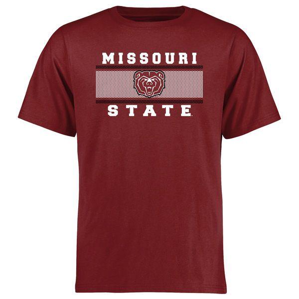 Missouri State University Bears Big & Tall Micro Mesh T-Shirt - Maroon - $29.99