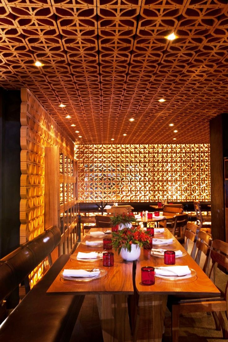 Gold wood restaurant interior google search wall