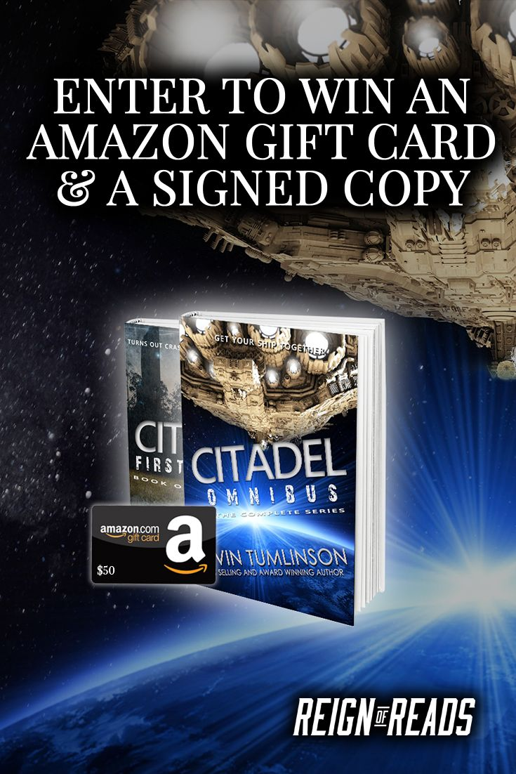 Win A $50 Amazon Gift Card And Signed Paperback From Bestselling Author  Kevin Tumlinson