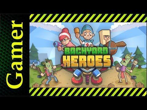 Андроид игры | Backyard Heroes by Kizi | РПГ андроид