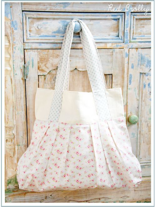 Tutorial for Parisian French Market Bag @ Red Brolly