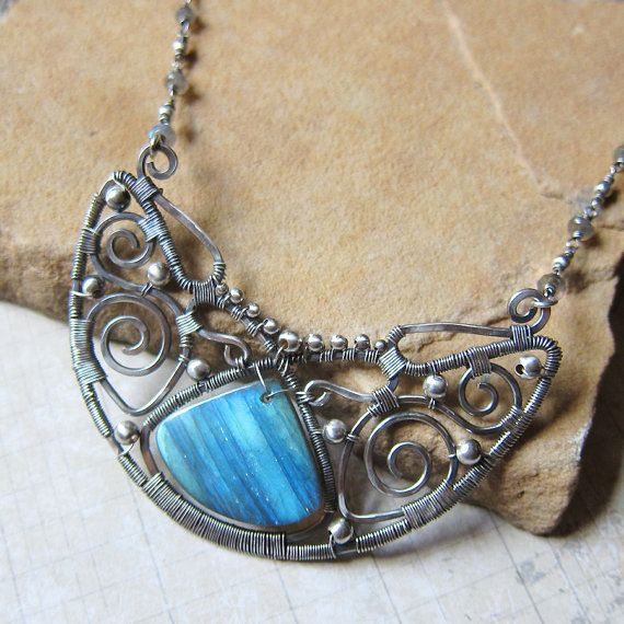 The Ancient Solstice Moon  A Lunula Necklace with by SihayaDesigns, $165.00