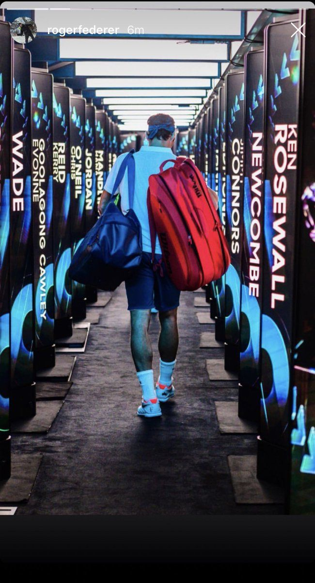 Finding The Comfortable Tennis Racquet Bag | Roger federer