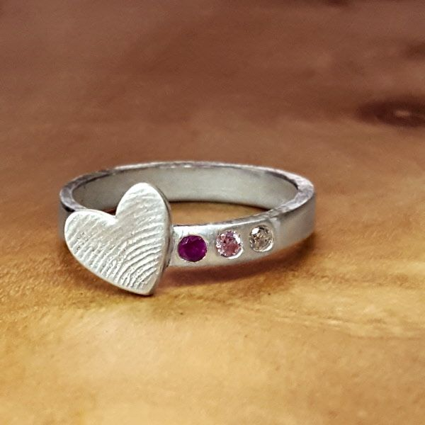 Afdruk vinger/handje ring workshop