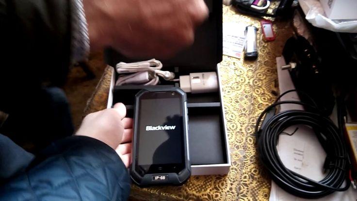 Посылка телефон Blackview BV600s обзор