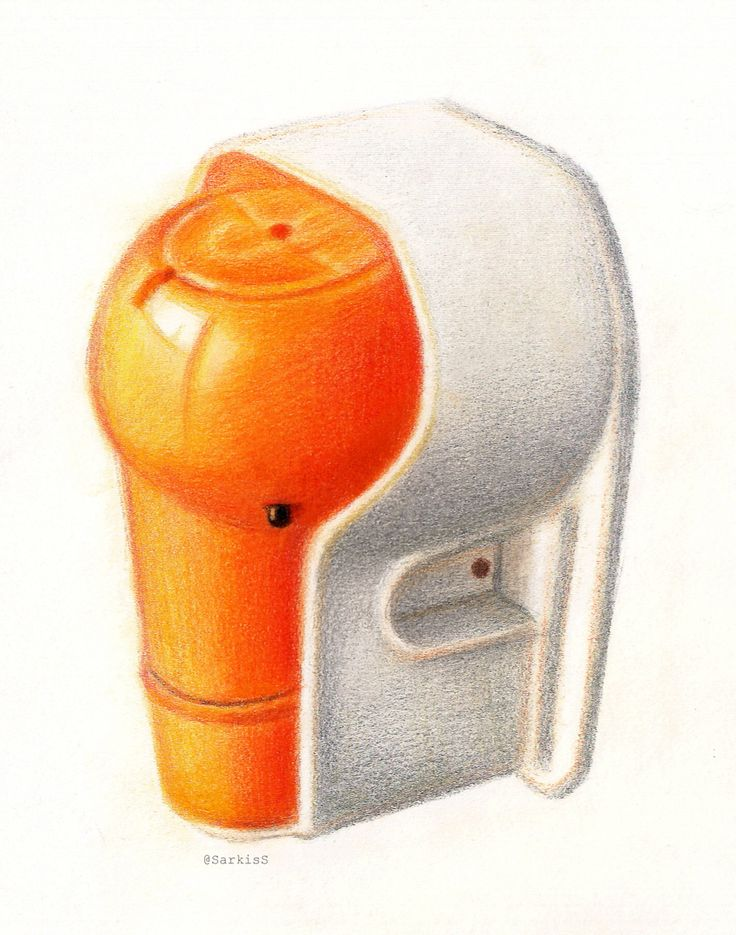 Product design pencil sketch