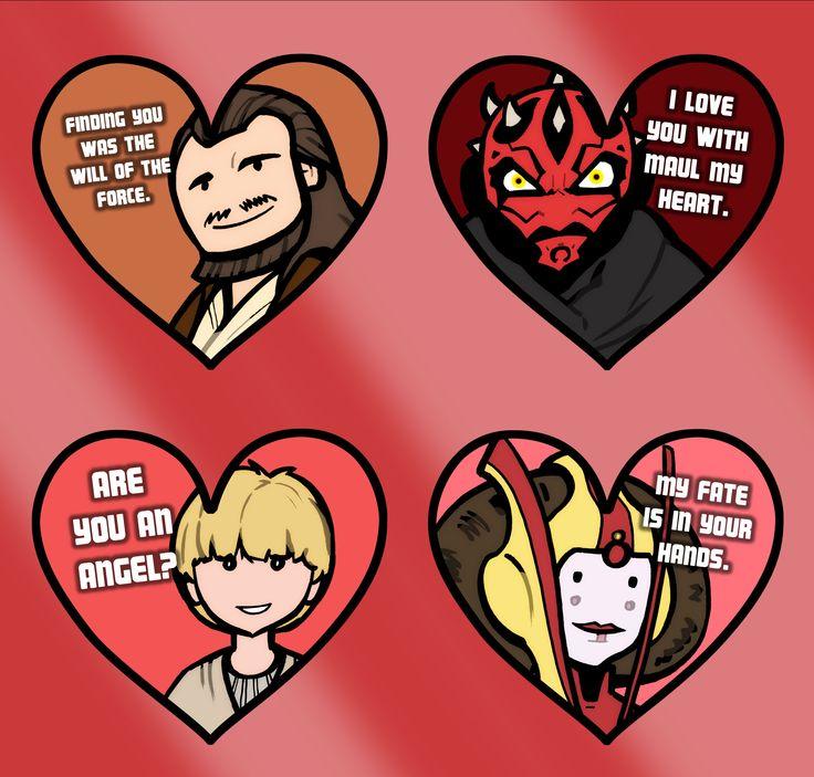 Star Wars Love Stickers