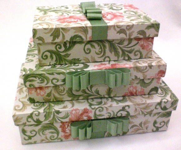 Kit de 3 caixas