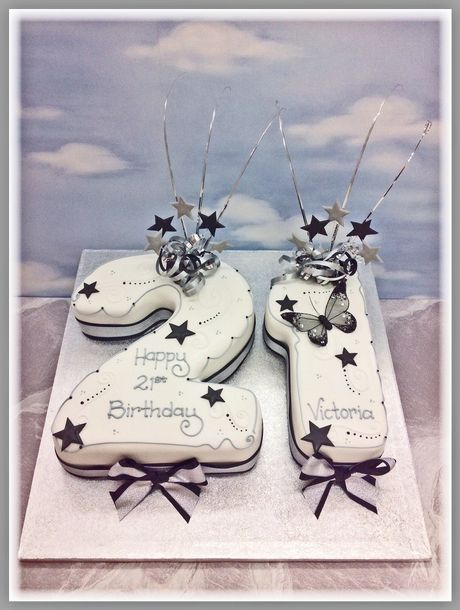 Number Cakes and Double Figure Birthday Cakes delivered in London