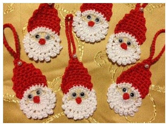 Tejidas a crochet para la próxima Navidad