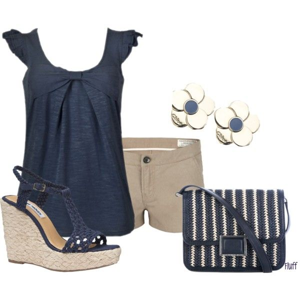 in the navy, created by fluffof5 on Polyvore