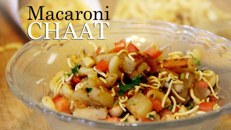Macaroni Chaat Recipe | Macaroni Salad Indian Style | Veg appetizer Reci...