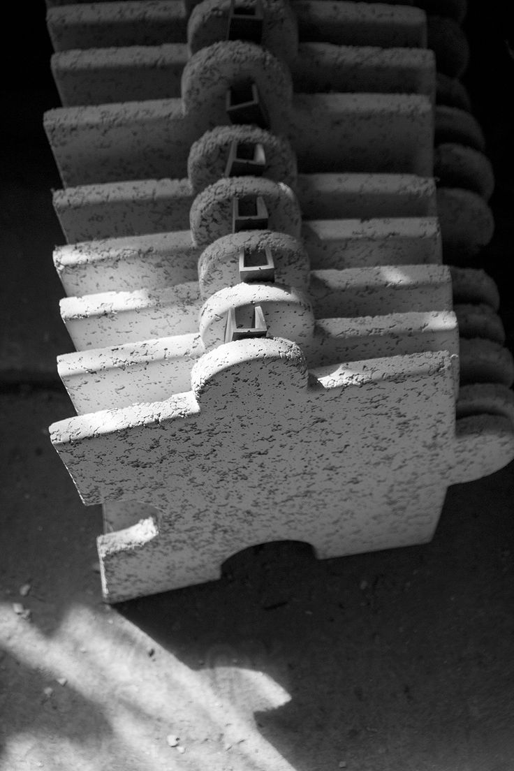 3D puzzles made of concrete