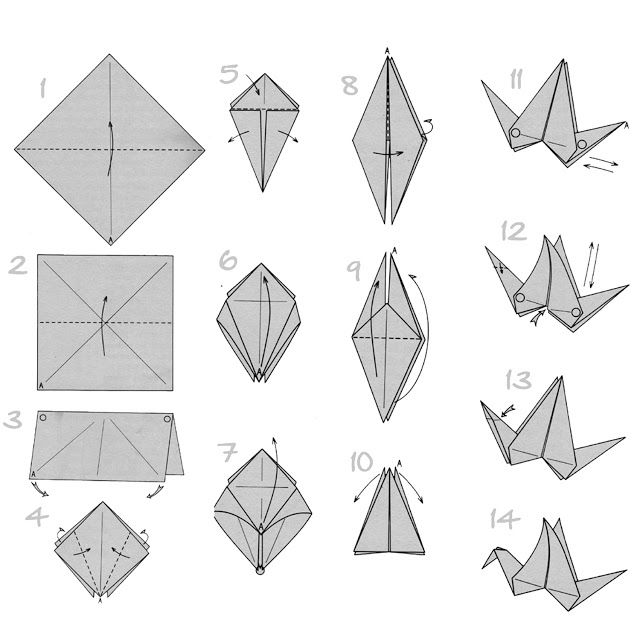 17 best ideas about origami flapping bird 2017 on for Origami crane step by step