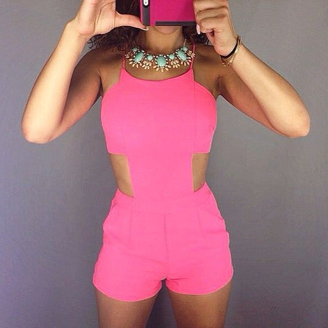 #ShareIG Cut it out #playsuit with @Victoria