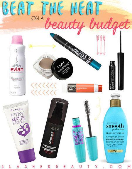 Get the list: http://www.slashedbeauty.com/sweat-proof-beauty-for-summer/