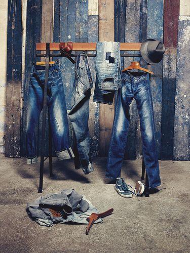 REPLAY jeans group MAN, pinned by Ton van der Veer