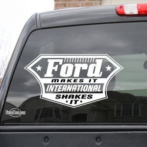 Image Of Ford Makes It International Shakes It Vinyl