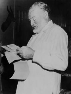For sale, baby shoes, never worn: Hemingway probably did not write the famous six-word story.