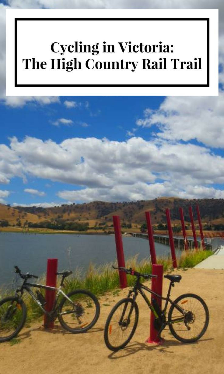 Cycling in Victoria: The High Country Rail Trail.