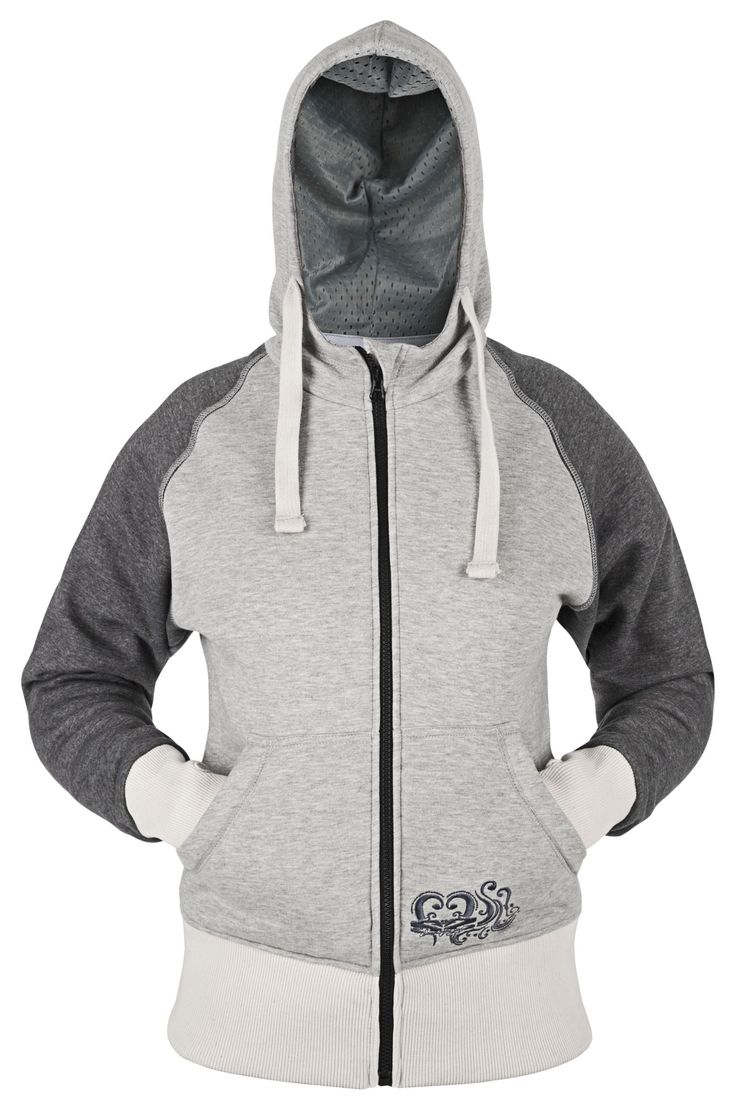 The Speed and Strength women's American Beauty armored motorcycle hoody features a cotton-poly blend frame with YKK Zippers and zippered hand warmer pockets....