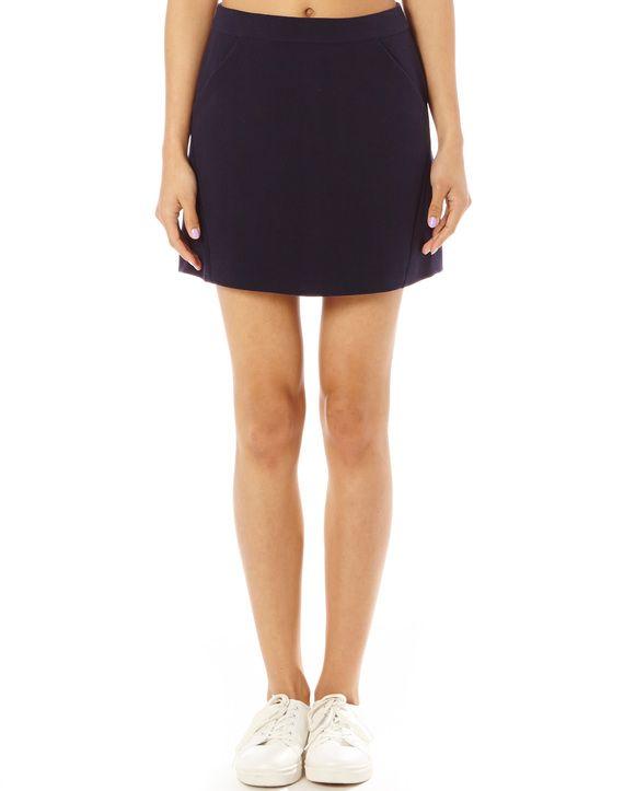 Panel Mini Skirt