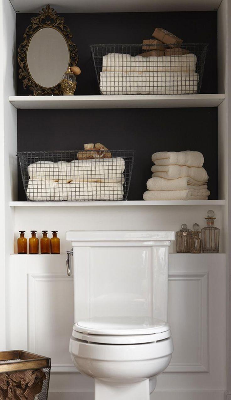 1000 idées sur le thème rangement de serviette de salle de bains ...