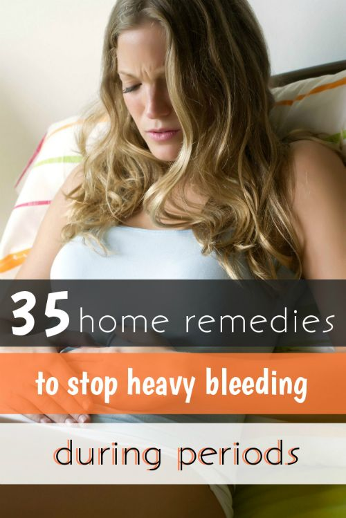 Looking for natural home remedies for heavy menstrual bleeding clots? Then here we have some very useful home remedies for you