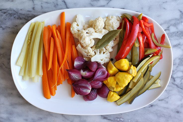 Pickle your favorite summer vegetables to keep them around for longer.