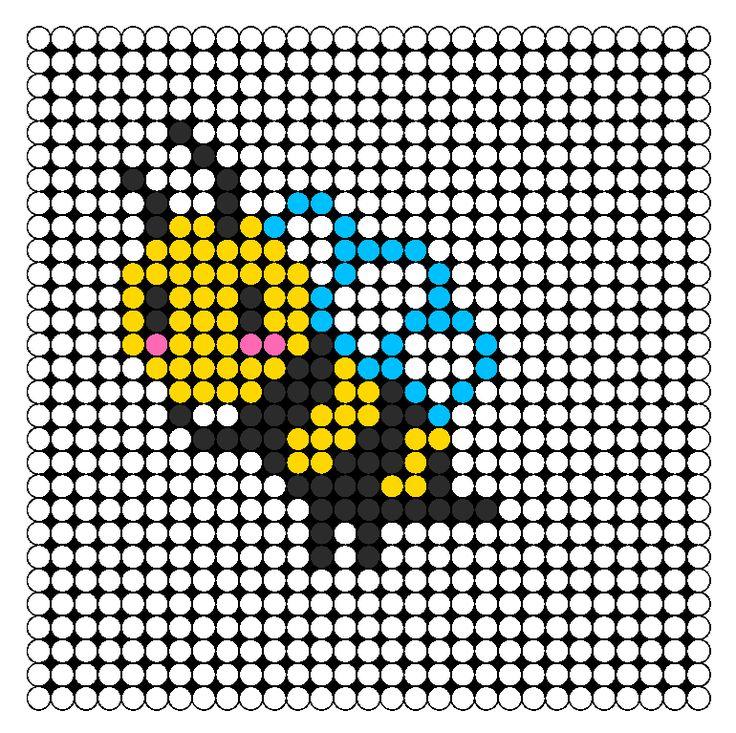 Honey Bee bead pattern