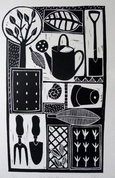 Work by Jan Brewerton titled 'The Garden'