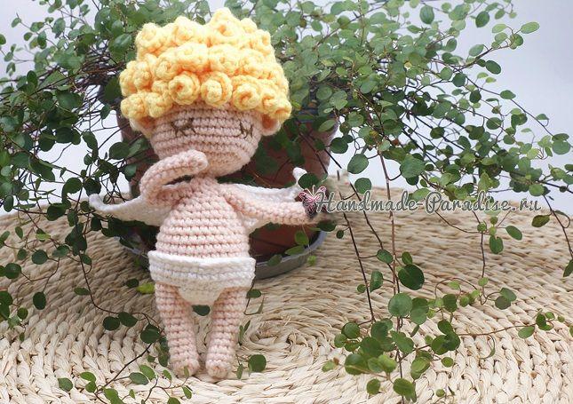 Амигуруми. Куколка АНГЕЛ (6)
