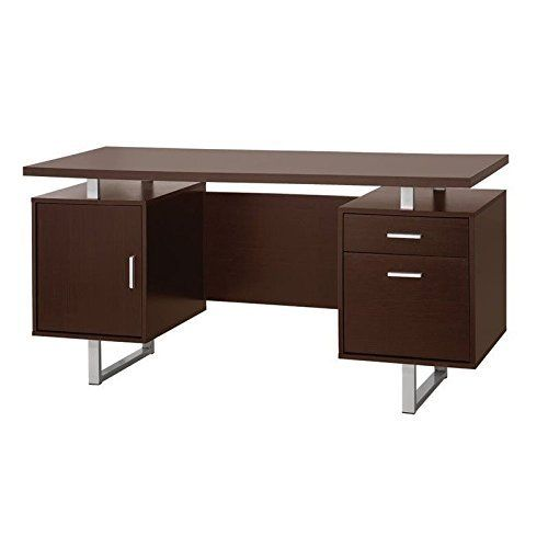 Contemporary desk with world map on the desk stop. Finished in black metal frame with two open shelves and glass top. KeywordXP PRO Offer All in one Keyword research software that includes - Blog title generator, Competitor Analysis, Domain Name Checker and Generator, Backlink Opportunity... more details available at https://furniture.bestselleroutlets.com/home-office-furniture/home-office-furniture-sets/product-review-for-coaster-801521-home-furnishings-desk-cappuccino/