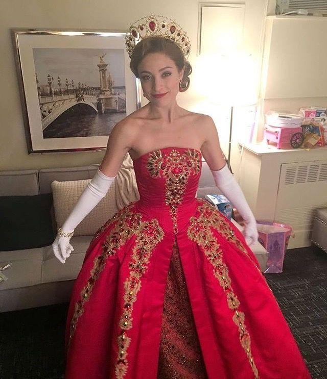 Anastasia on Broadway; this dress is beautiful!