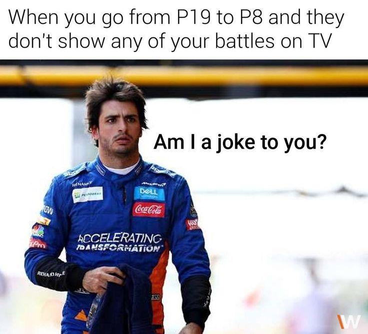 Pin na nástěnce F1 Memes