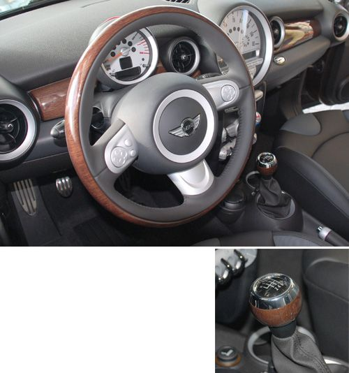 english oak trim for mini cooper these are in the car i just bought but with a tuscan beige. Black Bedroom Furniture Sets. Home Design Ideas