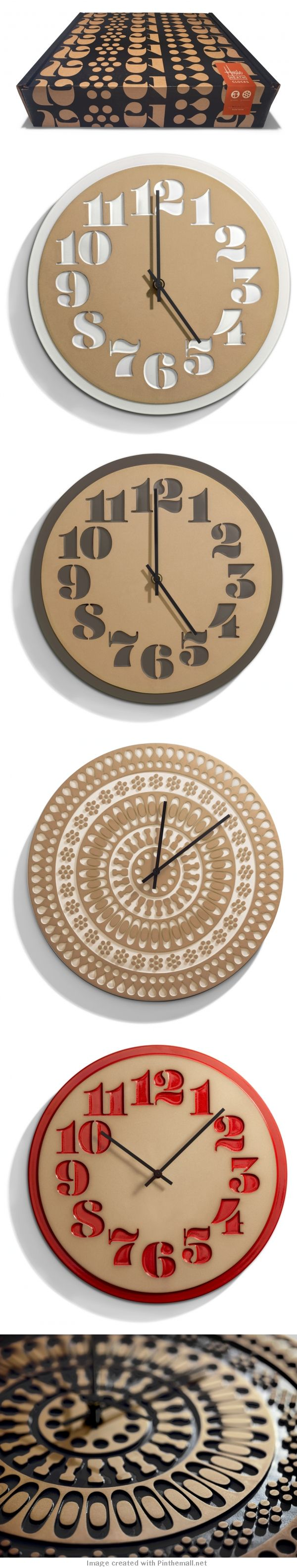House Industries u0026 Heath Ceramics Clocks 89
