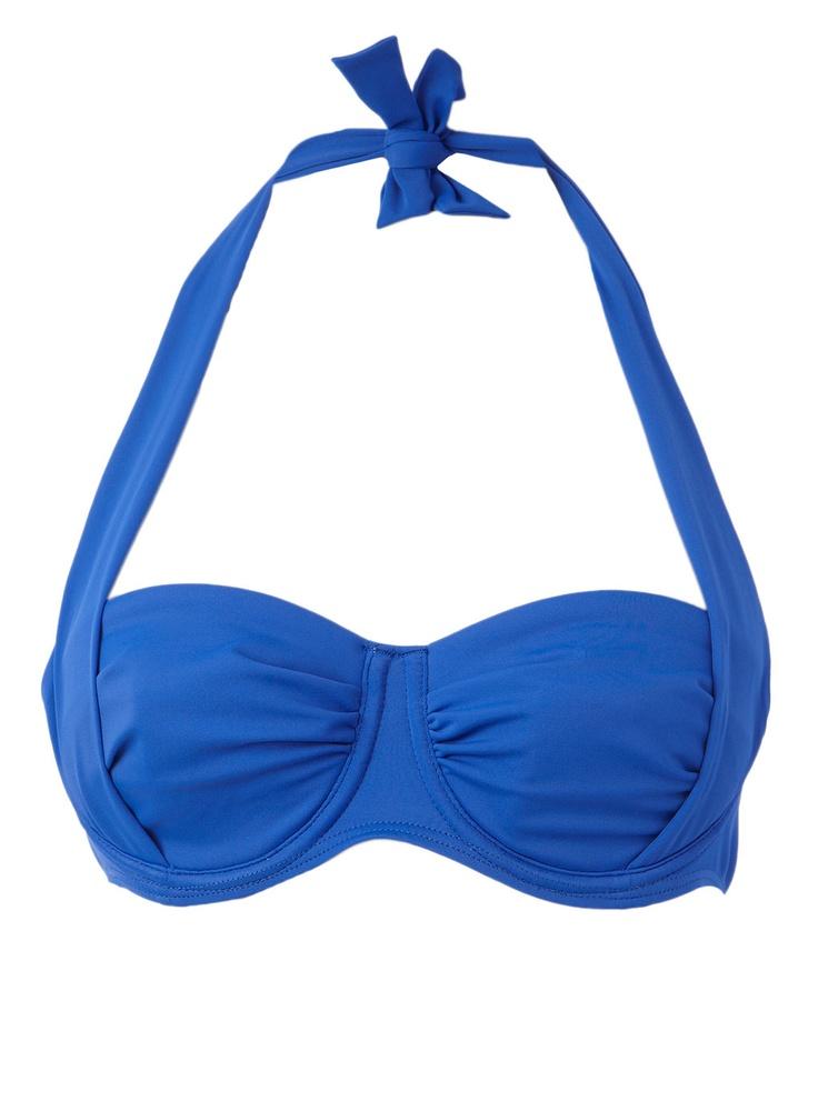 Blue Multiway Bikini Top - bikini tops - swimwear & beachwear - Women - BHS