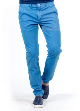 Yazlık Mavi Kanvas Erkek Pantolon SlimFit